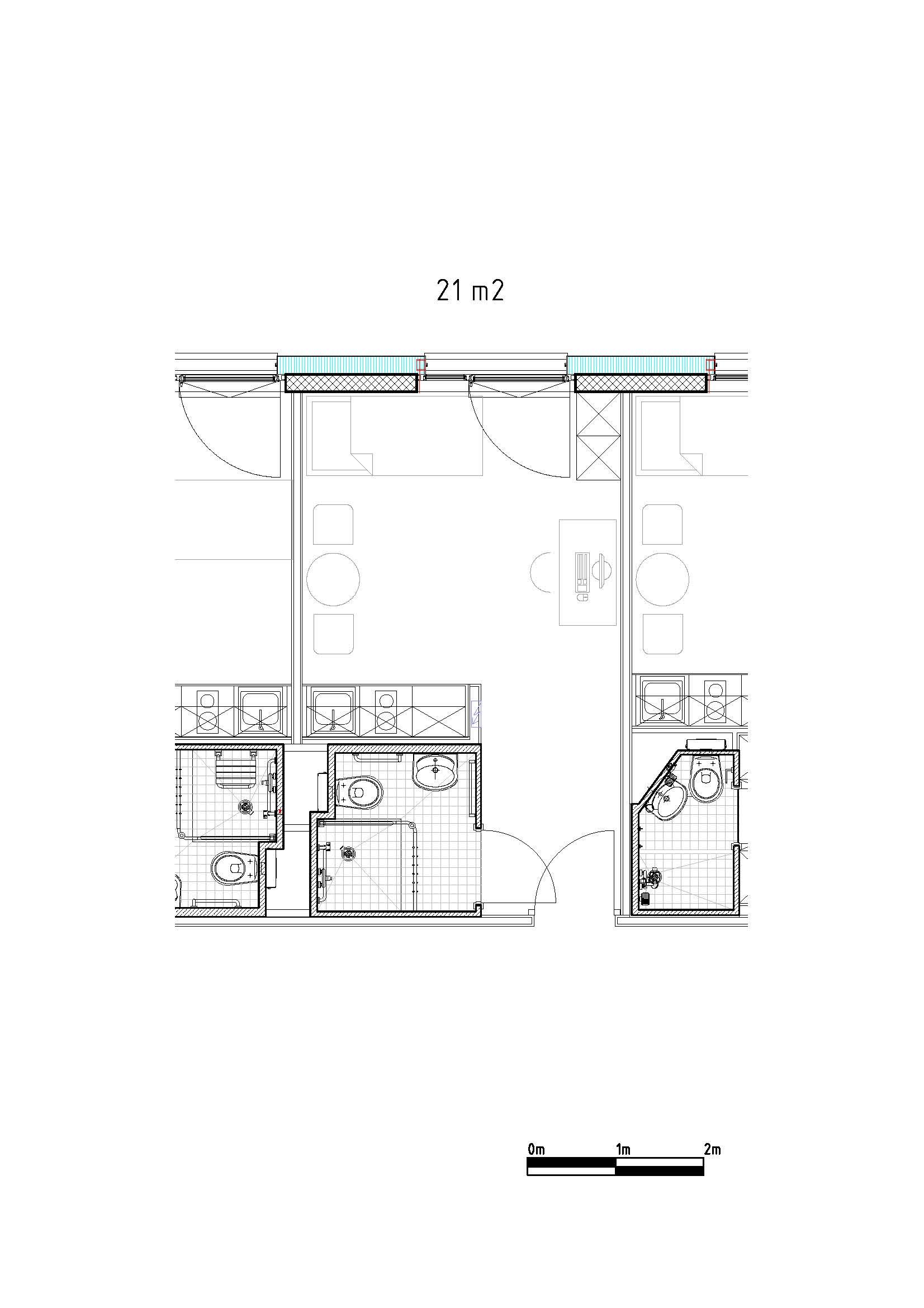 Haldimand plan studio 21m2